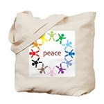 Peace Bebes Tote Bag