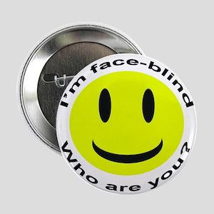 """Face Blind"" 2.25"" Button"