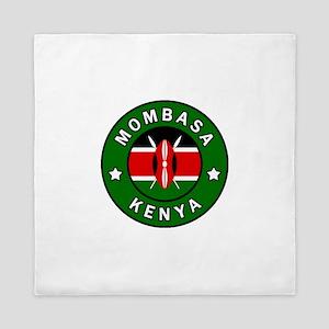 Mombasa Kenya Queen Duvet