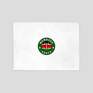 Mombasa Kenya 5'x7'Area Rug