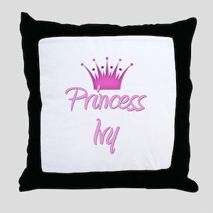 Princess Ivy Throw Pillow