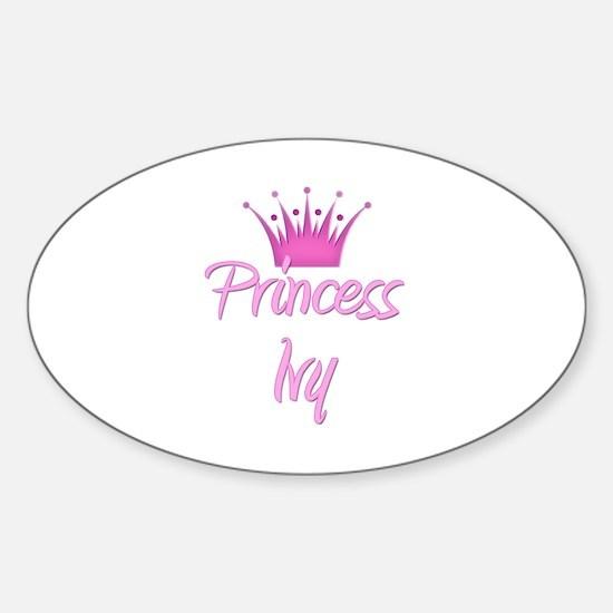 Princess Ivy Oval Decal