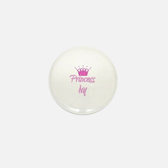 Princess Ivy Mini Button