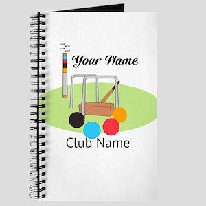 Croquet Club Player Team Journal