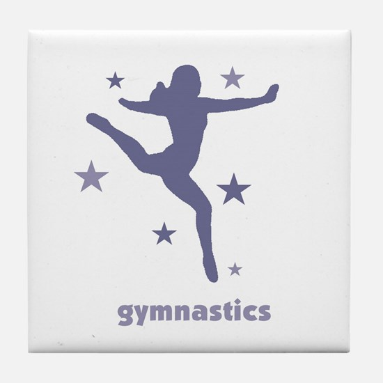 Cute Rhythmic gymnastics Tile Coaster