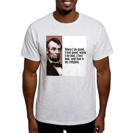 """Lincoln """"Do Good"""" Light T-Shirt"""