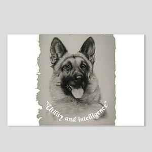 Schutzhund Postcards (Package of 8)