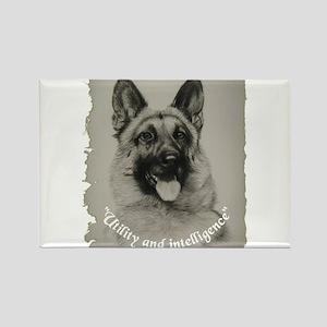 Schutzhund Rectangle Magnet