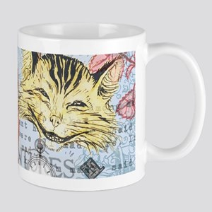 Alice in Wonderland Rackham Cheshire Cat Mugs