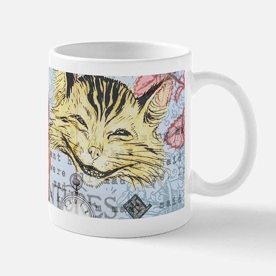 Alice in Wonderland Rackham Cheshire Cat Mugs