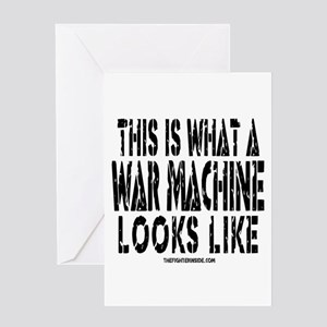 This is What A War Machine Lo Greeting Card