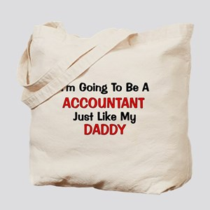 Accountant Daddy Profession Tote Bag