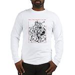 Real Men Wear Kilts V Long Sleeve T-Shirt
