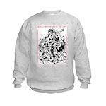 Real Men Wear Kilts V Kids Sweatshirt