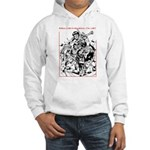 Real Men Wear Kilts V Hooded Sweatshirt