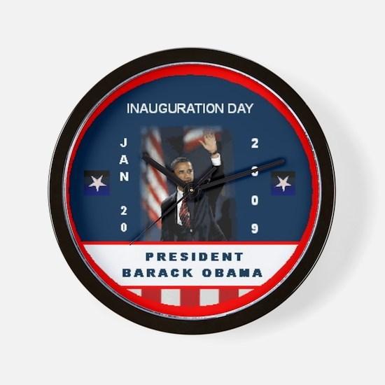 Funny Inauguration party Wall Clock