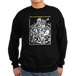 Real Men Wear Kilts V Sweatshirt (dark)