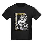 Real Men Wear Kilts V Kids Dark T-Shirt
