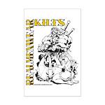 Real Men Wear Kilts V Mini Poster Print