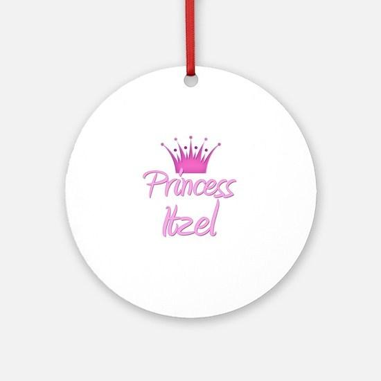 Princess Itzel Ornament (Round)