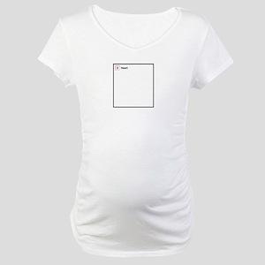 Broken Heart Link Maternity T-Shirt
