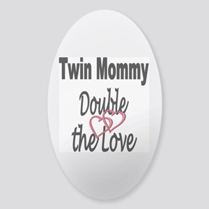 Double the Love Sticker (Oval)