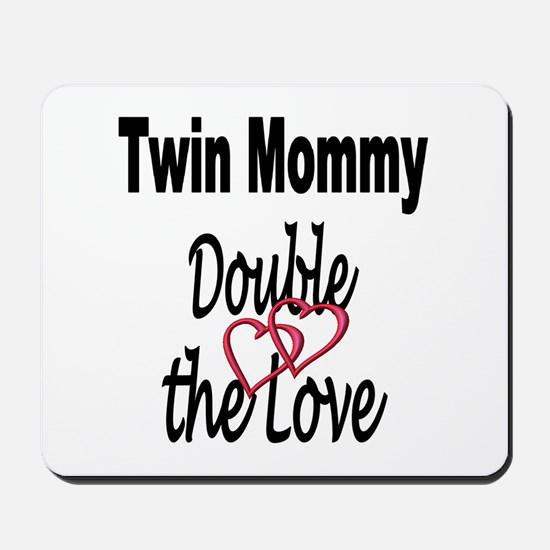 Double the Love Mousepad