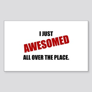 Awesomed All Over The Place Sticker