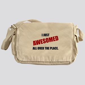 Awesomed All Over The Place Messenger Bag