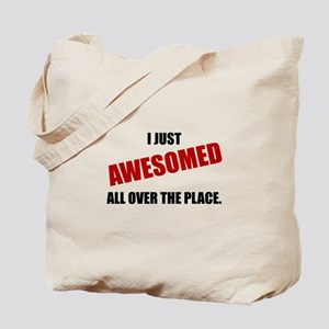 Awesomed All Over The Place Tote Bag