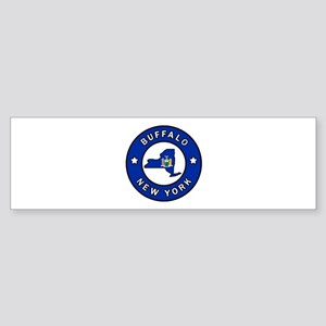 Buffalo New York Bumper Sticker