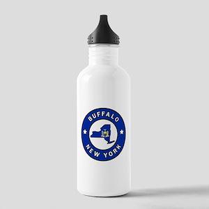 Buffalo New York Stainless Water Bottle 1.0L