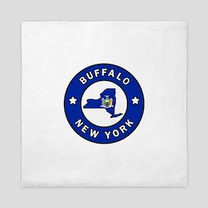 Buffalo New York Queen Duvet