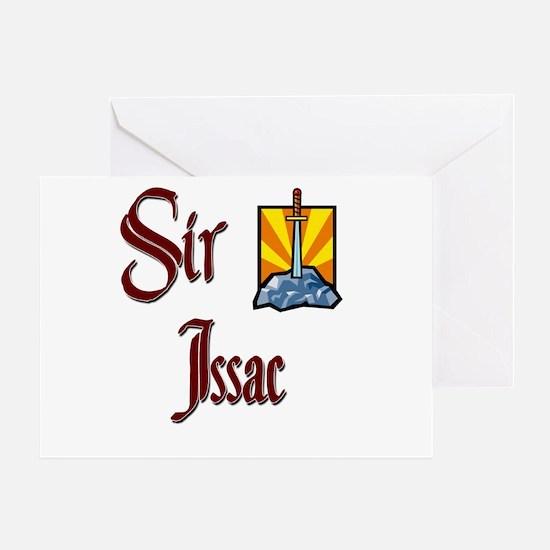 Sir Issac Greeting Card