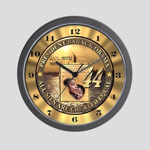 Inauguration Wall Clock