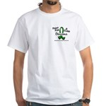 Glaucoma Fight For A Cure White T-Shirt