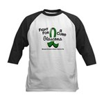 Glaucoma Fight For A Cure Kids Baseball Jersey
