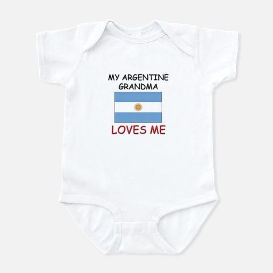 My Argentine Grandma Loves Me Infant Bodysuit