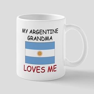My Argentine Grandma Loves Me Mug