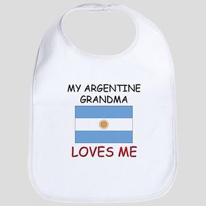 My Argentine Grandma Loves Me Bib