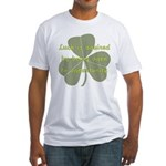 Lucky is Opportunuty Fitted T-Shirt
