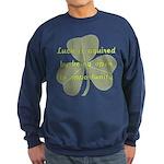 Lucky is Opportunuty Sweatshirt (dark)