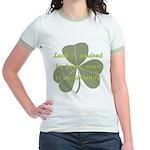 Lucky is Opportunuty Jr. Ringer T-Shirt