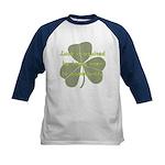Lucky is Opportunuty Kids Baseball Jersey