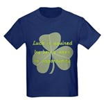 Lucky is Opportunuty Kids Dark T-Shirt