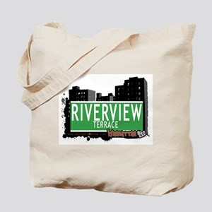 RIVERVIEW TERRACE, MANHATTAN, NYC Tote Bag