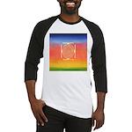 374.rainbow mandala Baseball Jersey