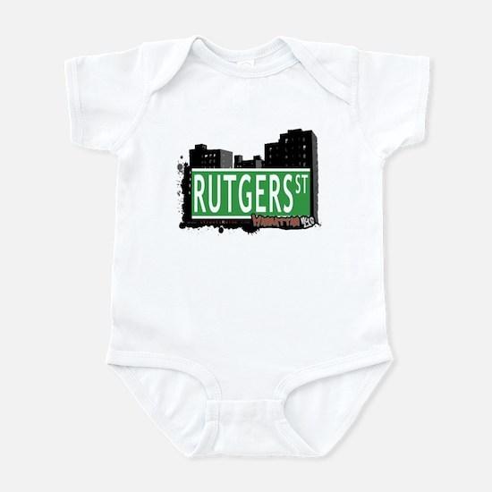 RUTGERS STREET, MANHATTAN, NYC Infant Bodysuit