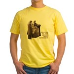 Welcome to the Great Depression Yellow T-Shirt