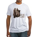 Welcome to the Great Depression Fitted T-Shirt